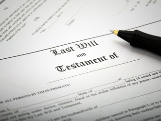 How to sign your Will