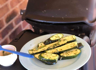 Grilled Herb Zucchini