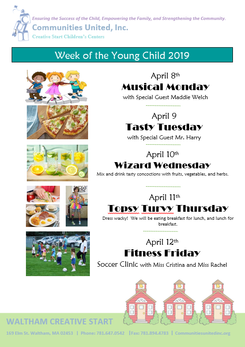 Week of the Young Child-April 8th-12th