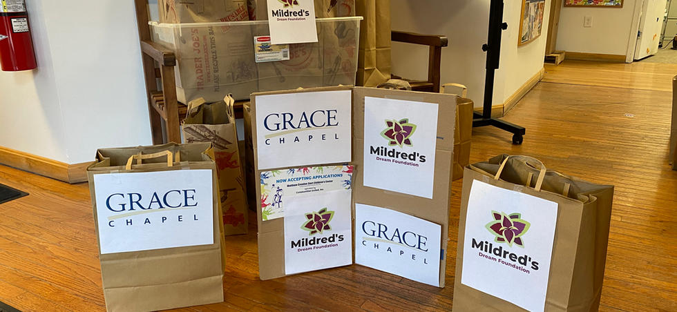 Food Bags Ready for Distribution