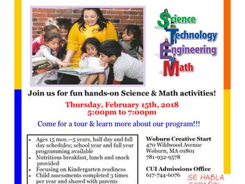 STEM Exhibition & Open House