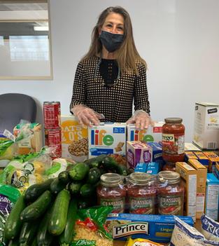 Director of Education Preparing for Food Distribution