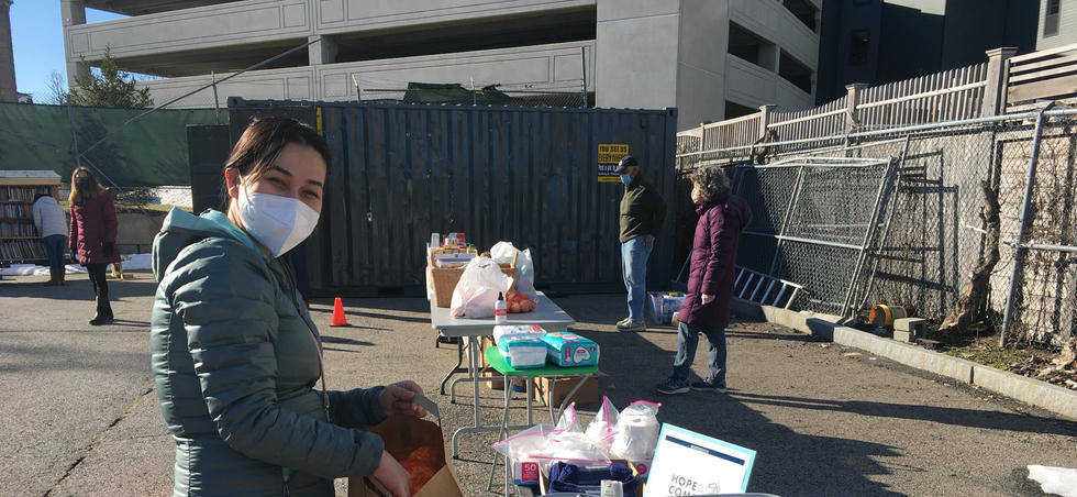 Food and General Hygiene Products Distribution