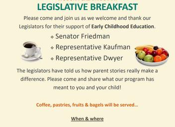 Legislative Breakfast at Woburn Creative Start