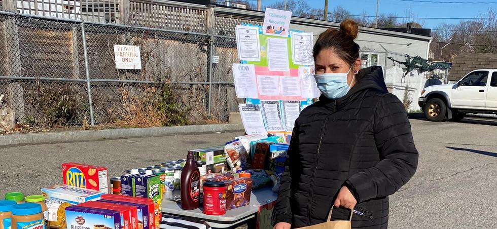 Open Food Market Set Up