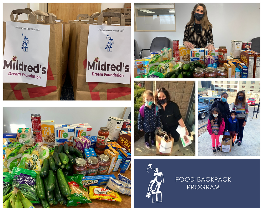 This year many of the families CUI serves are struggling more than ever due to the ongoing pandemic. Families have indicated an increase in food insecurity as a critical family need. Approximately 90% of the families CUI serves are living at or below the federal poverty level. Your donation makes a difference!