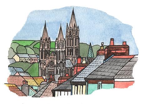 Art Print- Truro- Cornwall