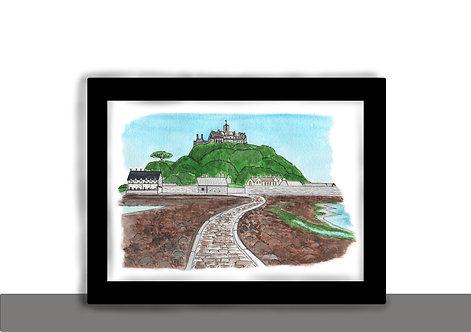 Art Print- St. Michael's Mount- Cornwall