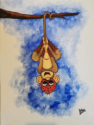 """Spider Monkey"""