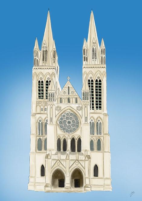 Art Print- Truro Cathedral- Digital