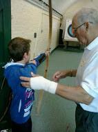 Petersfield Summer School student archer