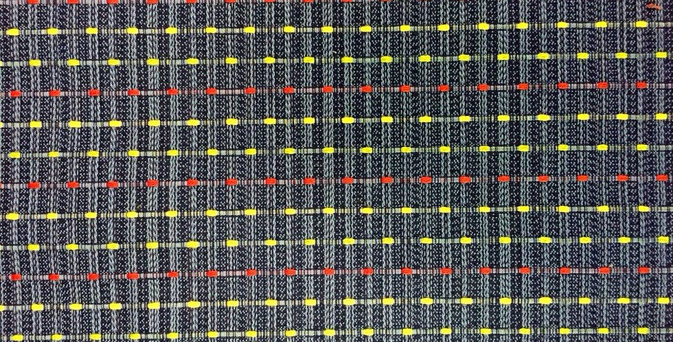 Woven Primary Colored Dots
