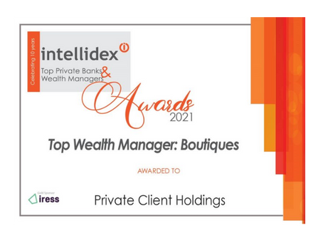TOP WEALTH MANAGER IN SA 2021