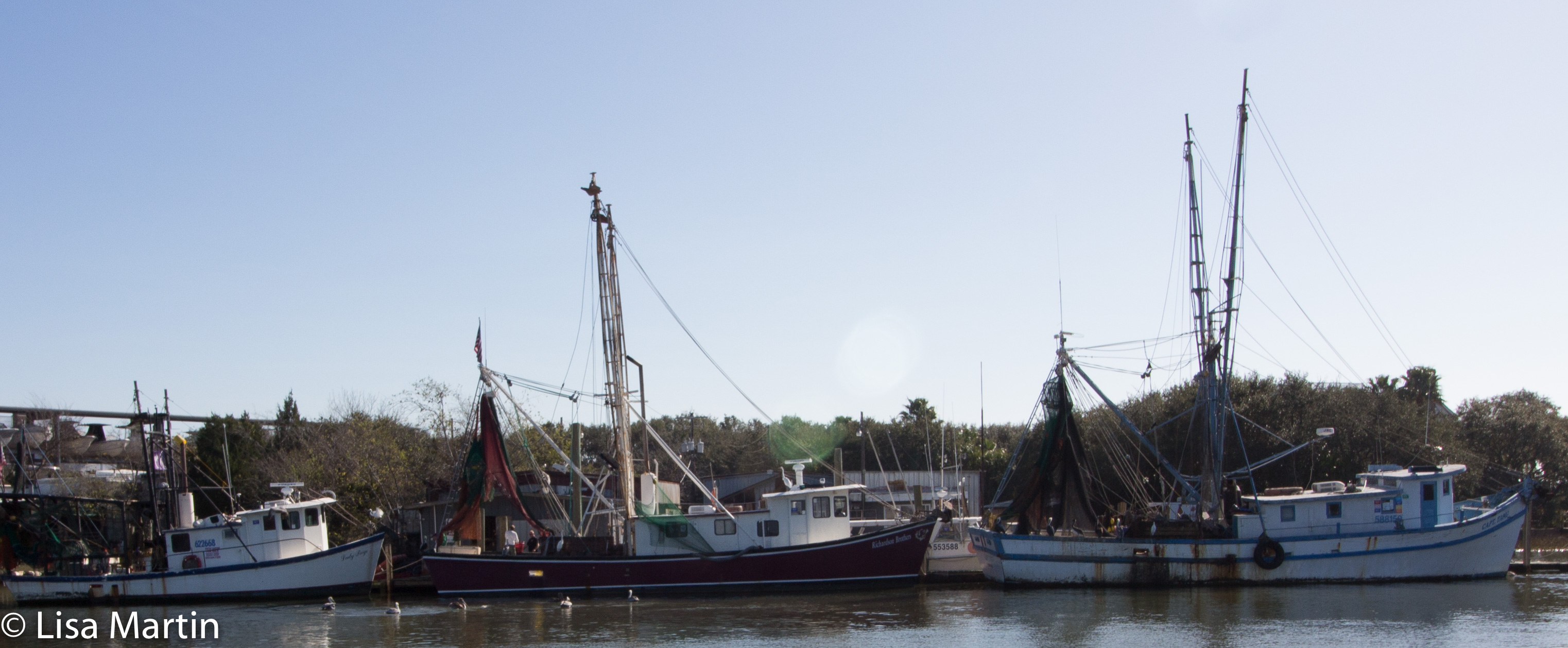 Shem Creek Shrimpers