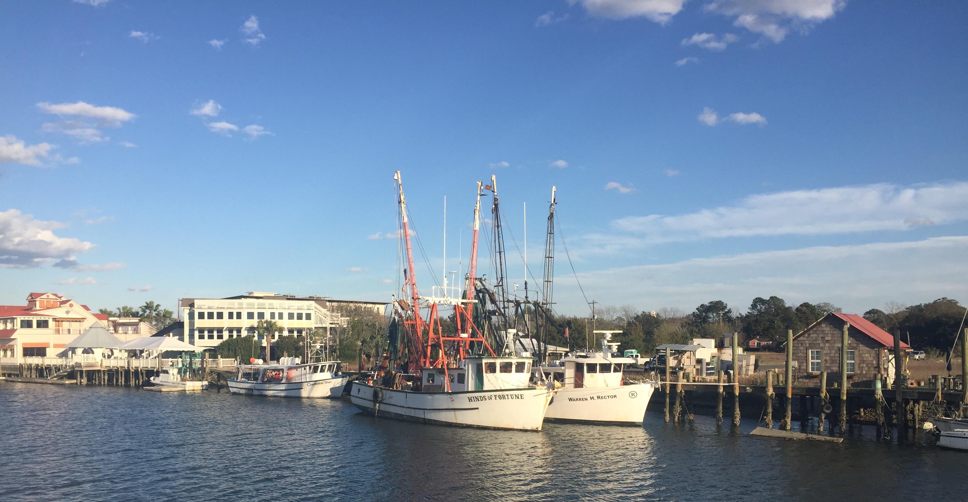 Shem Creel Shrimp Boats