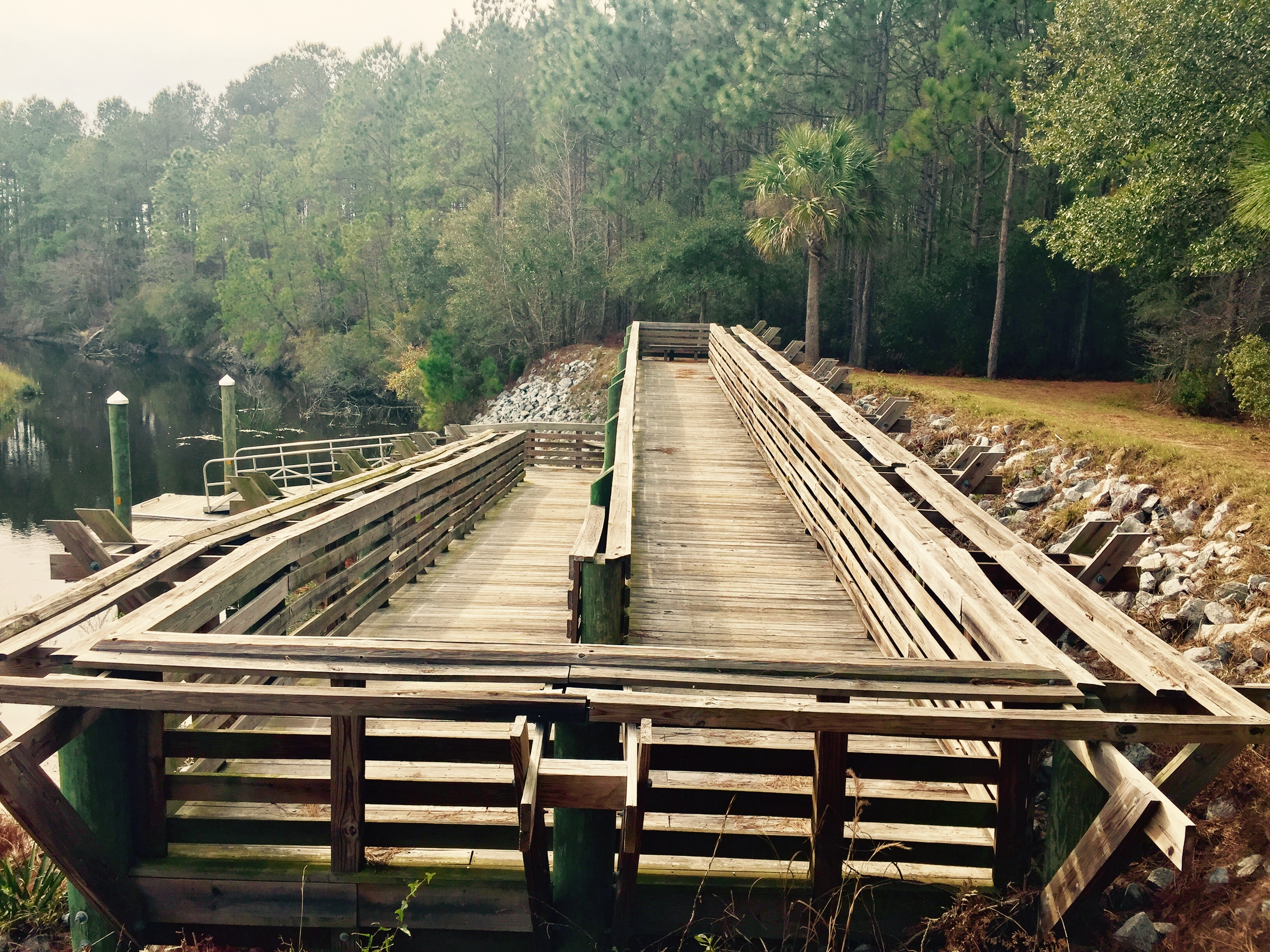 Palmetto Trail Awendaw Canoe Launch
