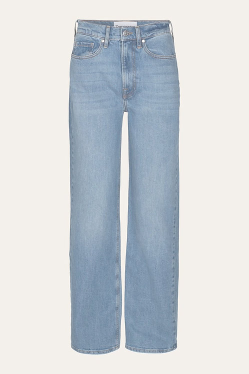 BROWN STRAIGHT JEANS TOMMOROW
