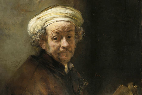 Self Portrait as the Apostle Paul