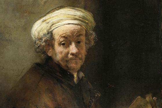 Auto-Retrato como o apóstolo Paulo