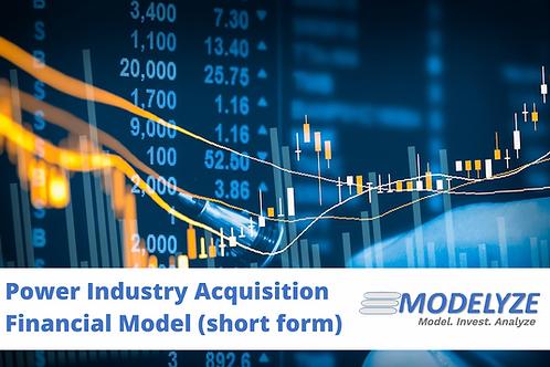 Algonquin Power & Ascendant Financial Model
