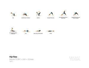 FREE PDF download Hip Flow Sequence for home yoga practise | Eryns Yoga in Barrhaven, Nepean, Ontario
