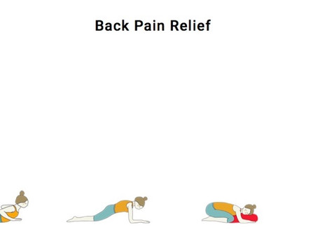 4 Yoga Poses for Back Pain