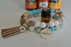 AromaMALA INSPIRE bracelet | Eryns Yoga in Barrhaven, Nepean, Ontario
