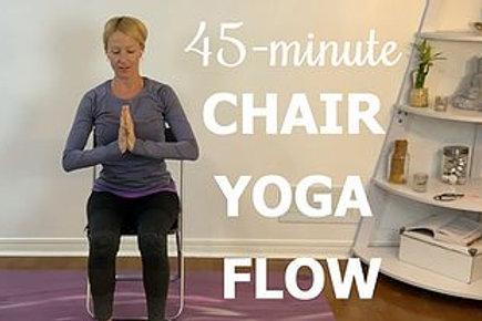 45-mins Chair Yoga Flow