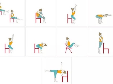 Chair Yoga: It's Not What It Seems (it's harder!)
