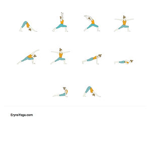 FREE PDF download Boost Metabolism Sequence for home yoga practise | Eryns Yoga in Barrhaven, Nepean, Ontario