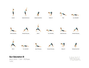 FREE PDF download Sun Salutation B Sequence for home yoga practise | Eryns Yoga in Barrhaven, Nepean, Ontario