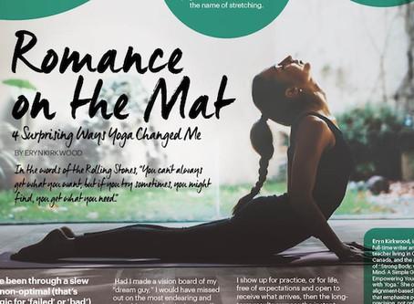 Romance on the Mat: 4 Surprising Ways Yoga's Changed Me