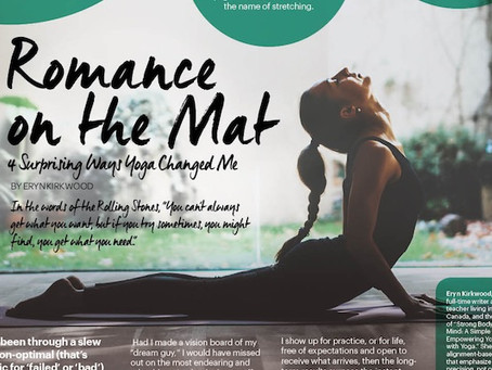 Romance on the Mat: 4 Surprising Ways Yoga's Changed Me