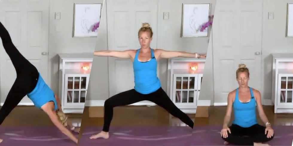 Yoga Online Live Recording by Eryn Kirkwood in Barrhaven, Nepean, Ontario