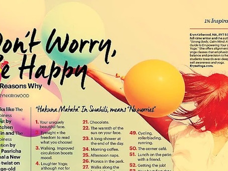 67 Reasons to Be Happy