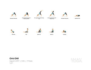 FREE PDF download Civic Chill Sequence for home yoga practise | Eryns Yoga in Barrhaven, Nepean, Ontario