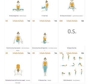 FREE PDF download Hip Warmup Sequence for home yoga practise | Eryns Yoga in Barrhaven, Nepean, Ontario