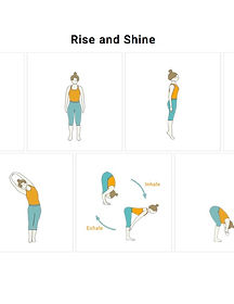 FREE PDF download Rise and Shine Sequence for home yoga practise | Eryns Yoga in Barrhaven, Nepean, Ontario