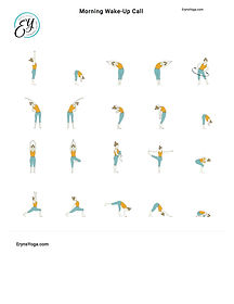 FREE PDF download Morning Warm Up Sequence for home yoga practise | Eryns Yoga in Barrhaven, Nepean, Ontario
