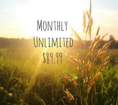 Monthly Unlimited Classes