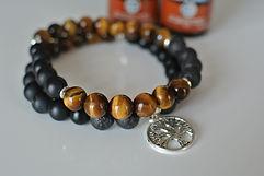 AromaMALA COURAGE bracelet | Eryns Yoga in Barrhaven, Nepean, Ontario