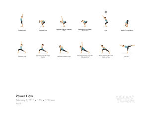 FREE PDF download Power Flow Sequence for home yoga practise | Eryns Yoga in Barrhaven, Nepean, Ontario