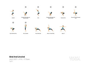 FREE PDF download Bind and Unwind Sequence for home yoga practise | Eryns Yoga in Barrhaven, Nepean, Ontario