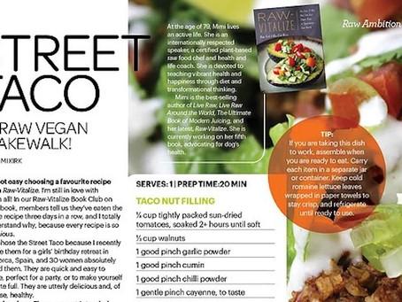Raw Vegan Street Tacos