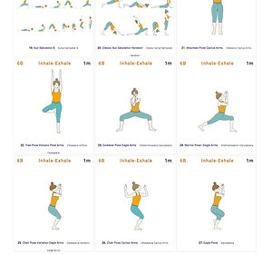 FREE PDF download Leg Strength Sequence for home yoga practise | Eryns Yoga in Barrhaven, Nepean, Ontario