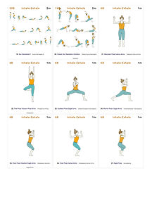 FREE PDF download Eagle Flow 3 Sequence for home yoga practise | Eryns Yoga in Barrhaven, Nepean, Ontario