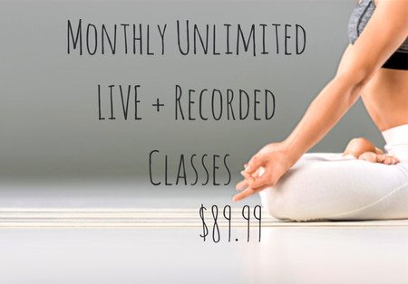 Monthly Unlimited Live + Recorded