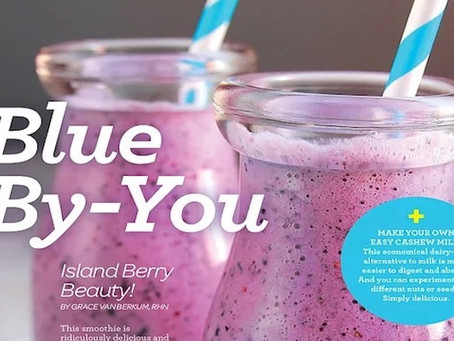 Friday Fuel! Blue By-You Smoothie
