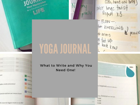 Why Every Yogi Needs a Journal and What to Write in It