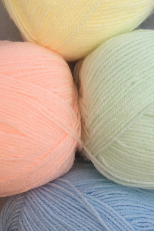 Woolcraft Babycare Baby 4 Ply 100g